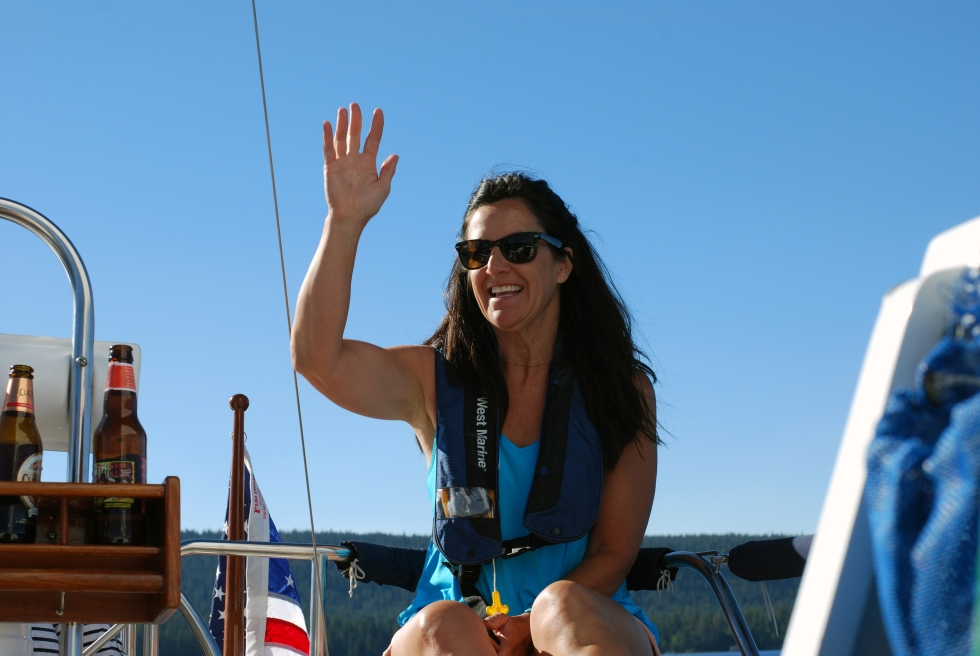 Krista on Splendido at Tahoe, 2016
